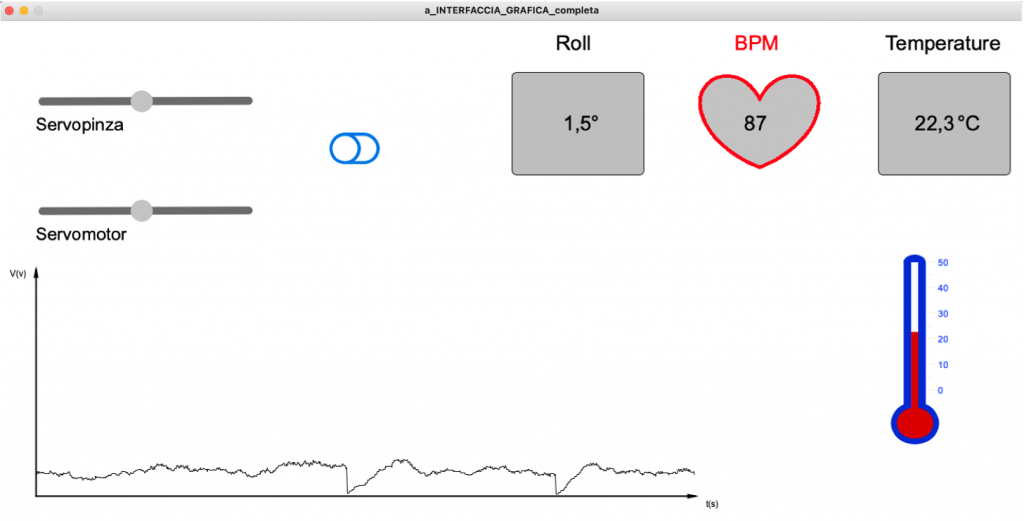 Fig.  29 – Interfaccia grafica Processing